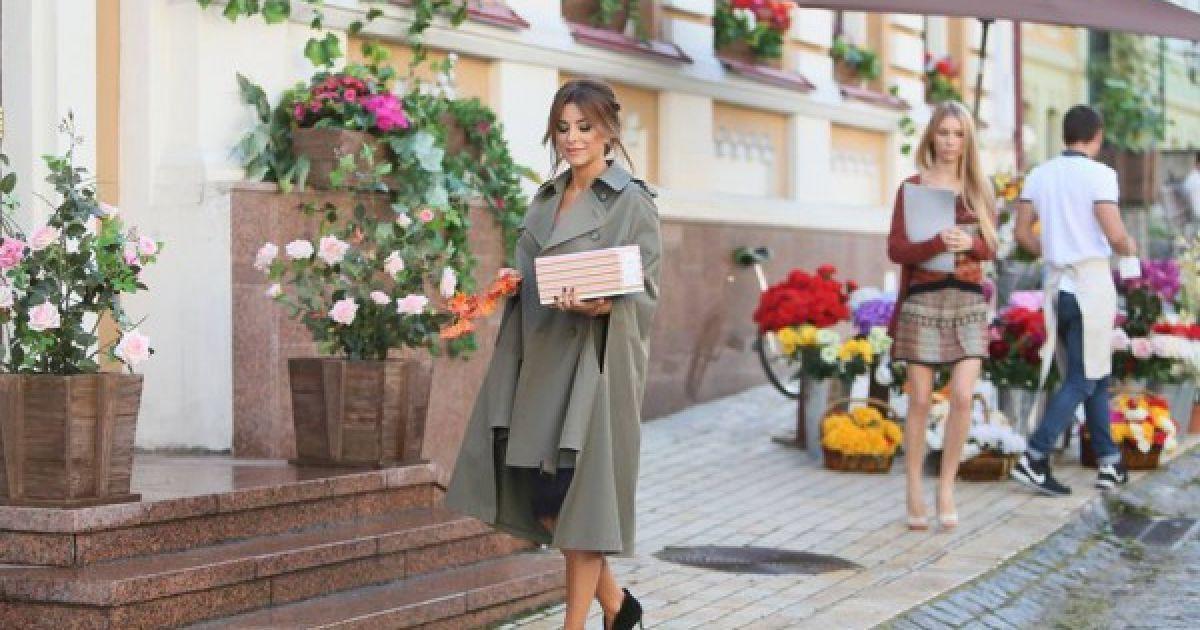 Ани Лорак показала, как снимался ее новый клип в Киеве