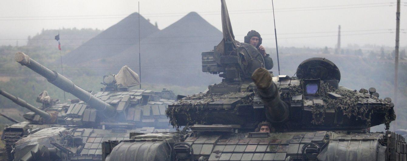 Ситуація у зоні АТО загострилася: терористи гатять із САУ, танків і важких мінометів