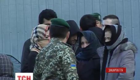 Нелегалы пытаются попасть в Европу и с территории Украины
