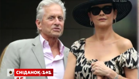 Кетрін Зета-Джонс та Майкл Дуглас фанатіють від тенісу