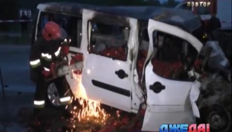 Четыре человека погибли в аварии на Черниговщине