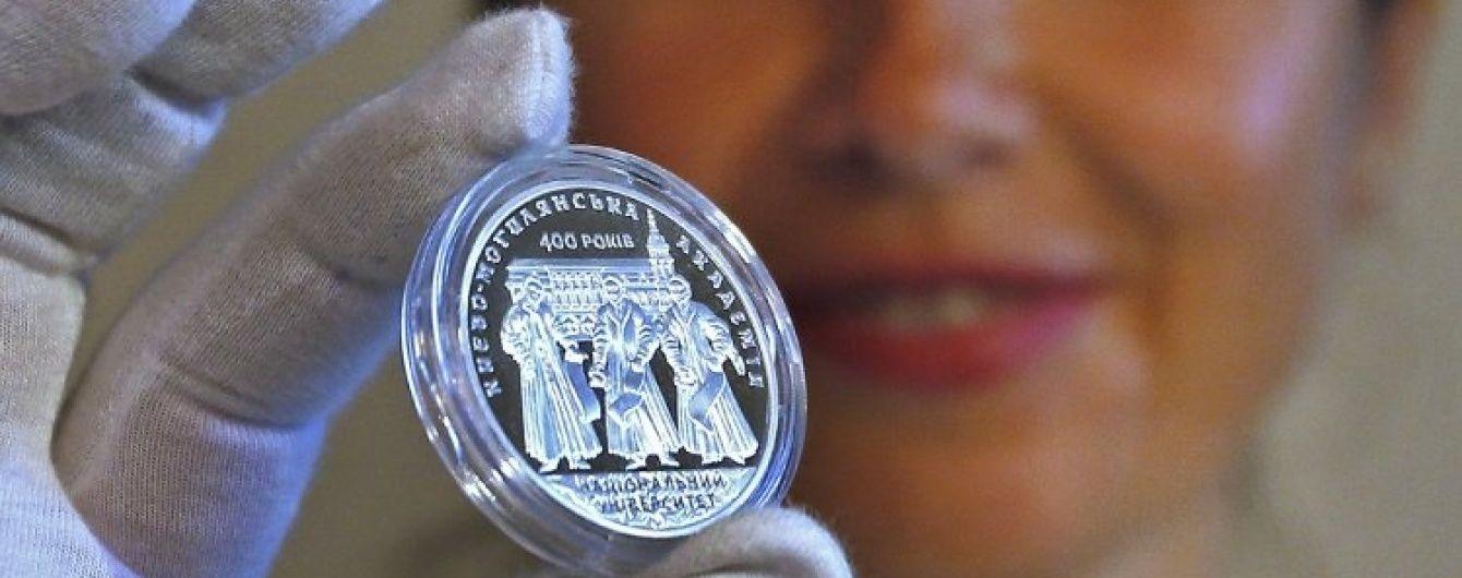 Нацбанк заработал на памятных монетах 140 млн гривен