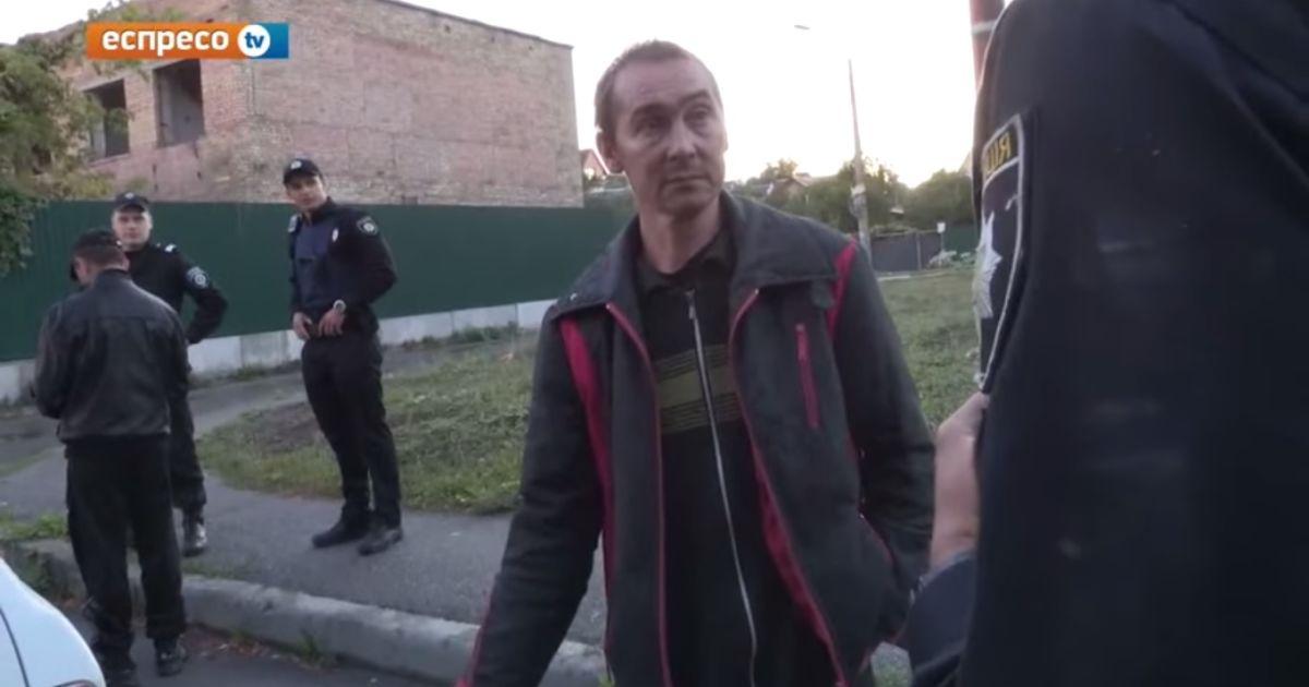 В Киеве милиция вызвала полицию из-за пьяного водителя