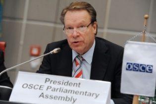 Президент ПА ОБСЕ после встречи с Нарышкиным выступил против санкций в отношении парламентариев