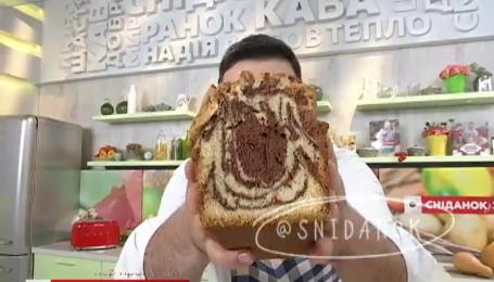 Шоколадно-ванильный кекс от Руслана Сеничкина