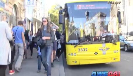 Киевского маршрутчика уволили за грубость в отношении участника боевых действий АТО