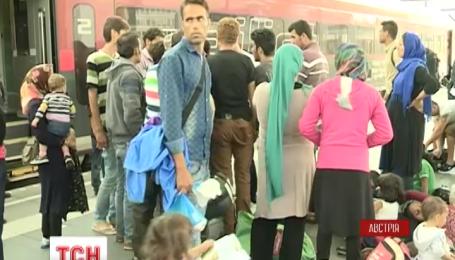 Австрия ввела временный пограничный контроль из-за наплыва мигрантов