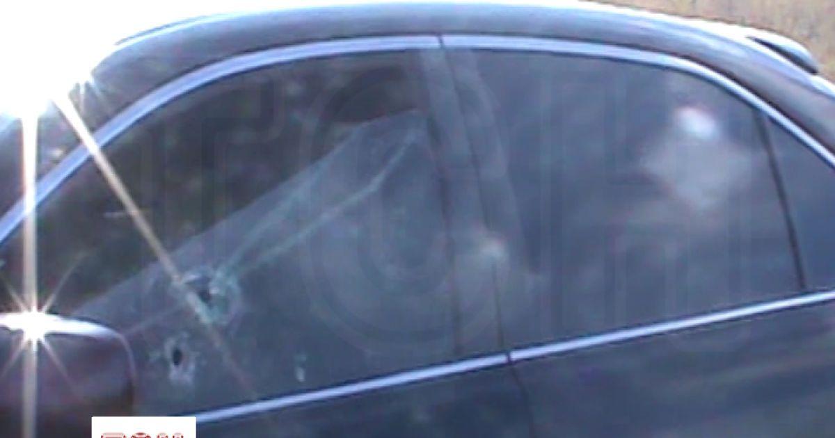 Под Киевом неизвестные расстреляли мужчину в собственной иномарке