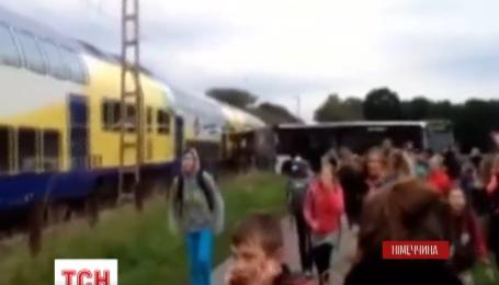 У Німеччині поїзд врізався у шкільний автобус