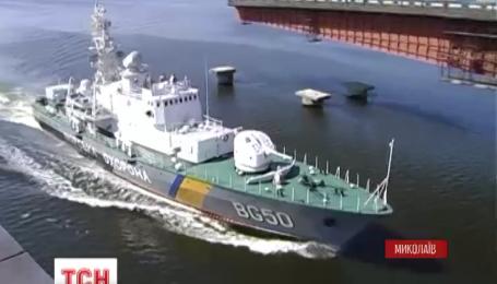 В Николаеве в ловушке оказались два военных судна