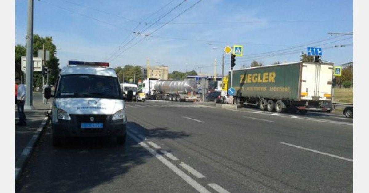 В Харькове произошло ДТП со скорой @ АТН