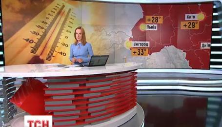 На завтра в Україні прогнозують не просто теплу, а спекотну погоду