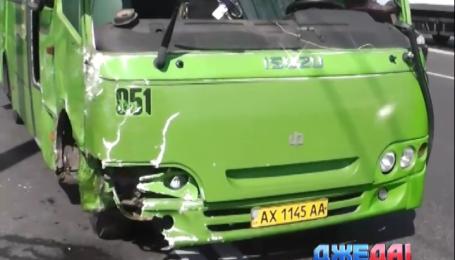 В Харькове в результате аварии пострадали девять человек