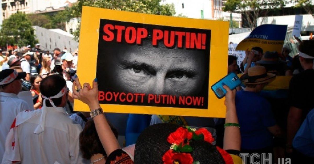 Кто попадает под санкции Украины против России. Инфографика