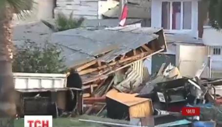 В Чили в результате землетрясения гибнут люди
