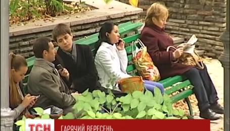 На сьогодні в Україні прогнозують спекотну погоду