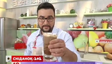 Рецепт горячего шоколада с мятой от Руслана Сеничкина