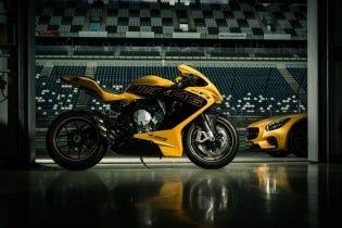 Mercedes-Benz представил мотоцикл в AMG-версии