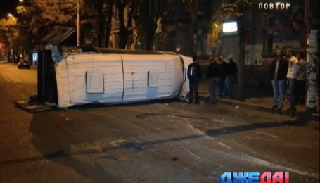 Двенадцать человек пострадали в аварии в Запорожье