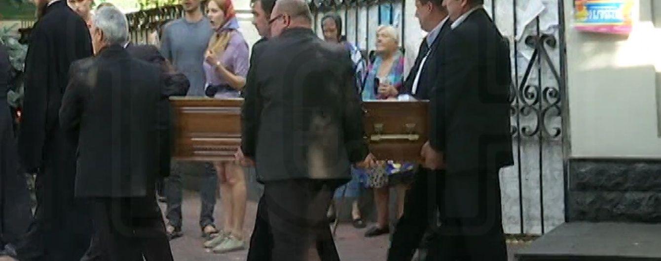 Сина Герман відспівали в Іллінській церкві на Подолі у Києві