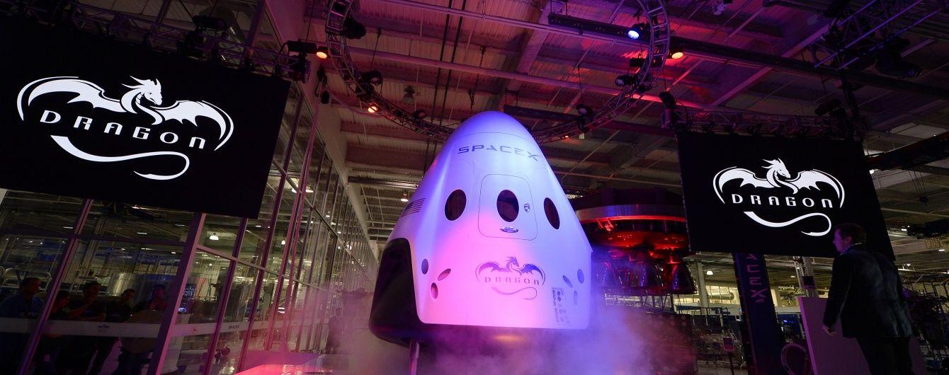 SpaceX обнародовала видео с испытаний нового космического корабля Crew Dragon