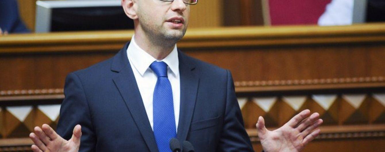 Яценюк прокомментировал решение России использовать свои войска в Сирии
