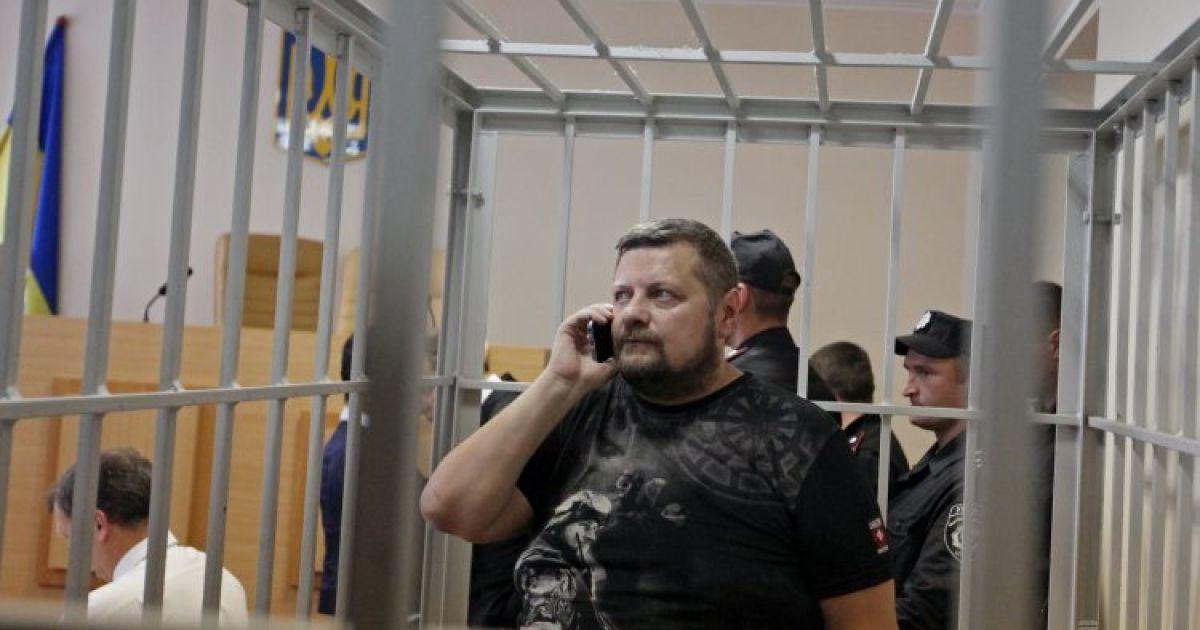 Заседание Печерского суда по делу Мосийчука. @ УНИАН