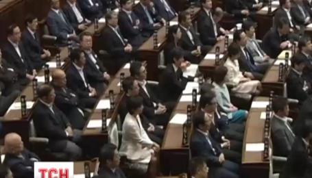 Японский парламент принял закон, который позволяет военным воевать на стороне союзников