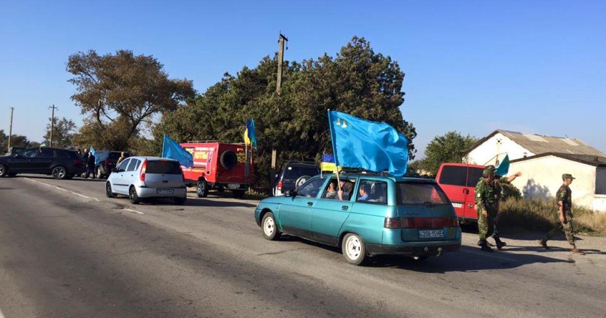 На админгранице с Крымом продолжается бессрочная блокада полуострова. Онлайн-трансляция
