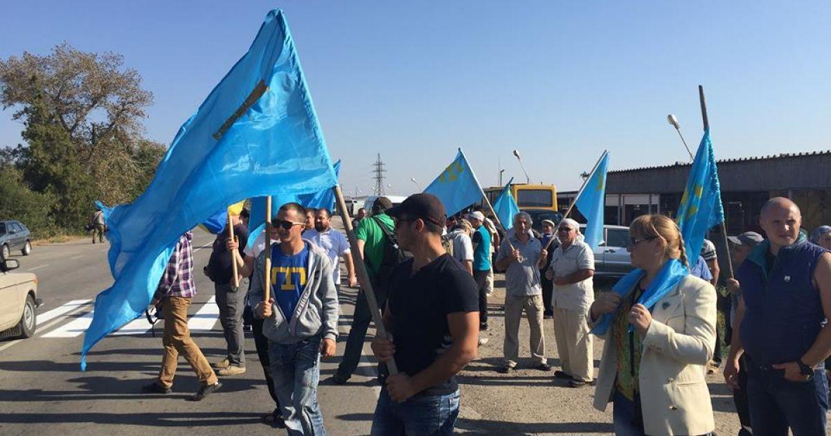 В Крыму стартовала бессрочная блокада полуострова.
