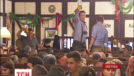 В Германии продолжают праздновать Октоберфест