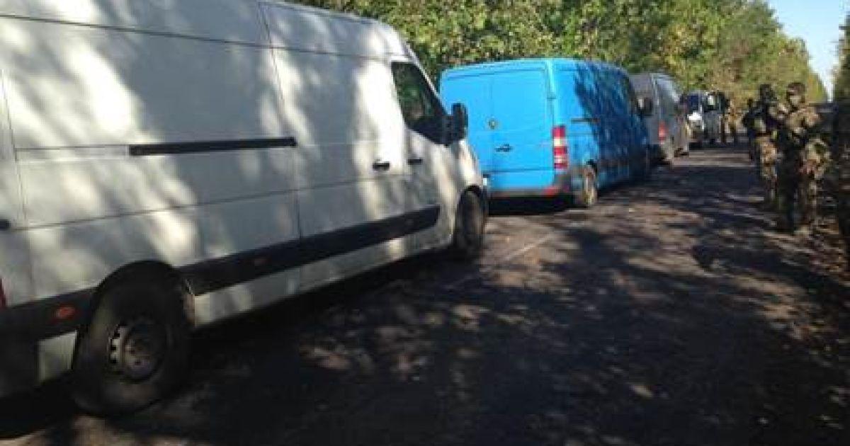 На Донбассе силовики перехватили 15 тонн контрабанды для боевиков