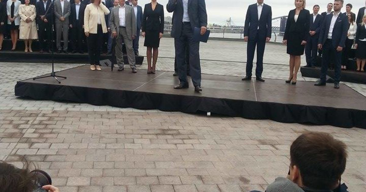 Кличко будет баллотироваться в мэры Киева @ Фото Инны Боднар/ТСН