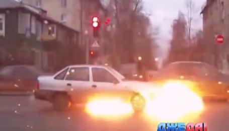 Взрывается ли авто от утечки горючего