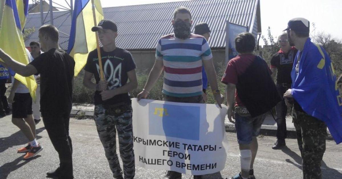 Одесситы заблокировали дорогу в Приднестровье @ 048.ua
