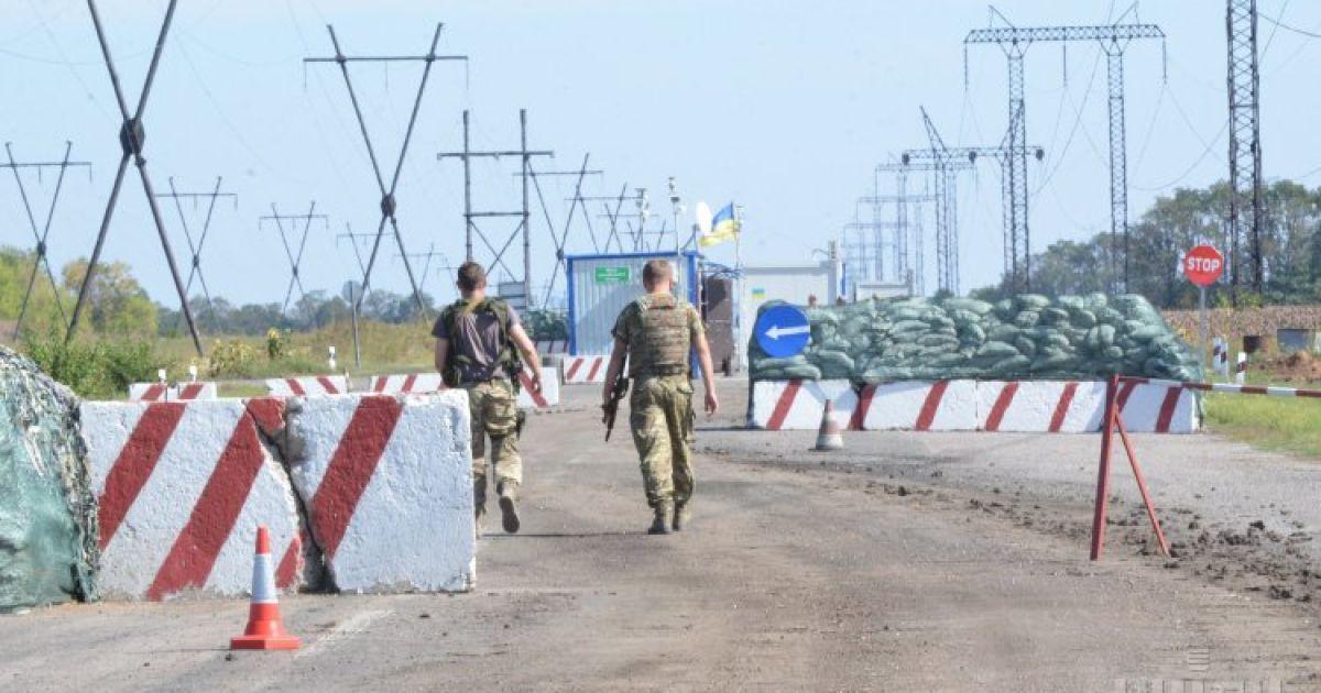 Возле 29-го блокпоста двое бойцов АТО подорвались на растяжке