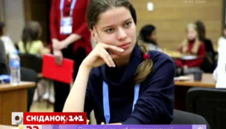 В гостях у «Сніданку з 1+1» чемпіонка світу з шахів Наталя Букса