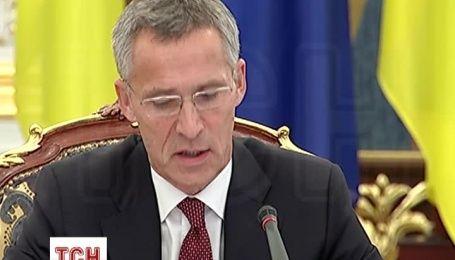 Генсек НАТО заявил, что Украина может рассчитывать на альянс