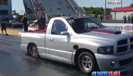 На что способен старенький пикап с мотором от Dodge Viper