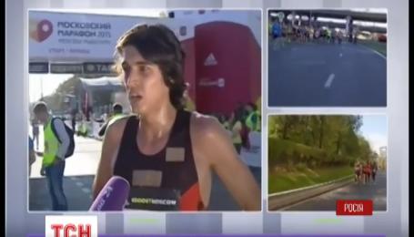 У Москві поліція намагалася затримати переможця 10-кілометрового марафону під час забігу