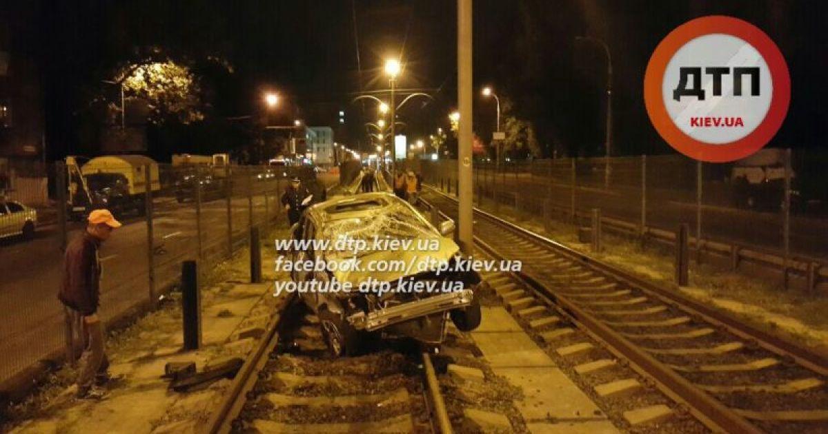 П'яний водій влаштував ДТП @ dtp.kiev.ua