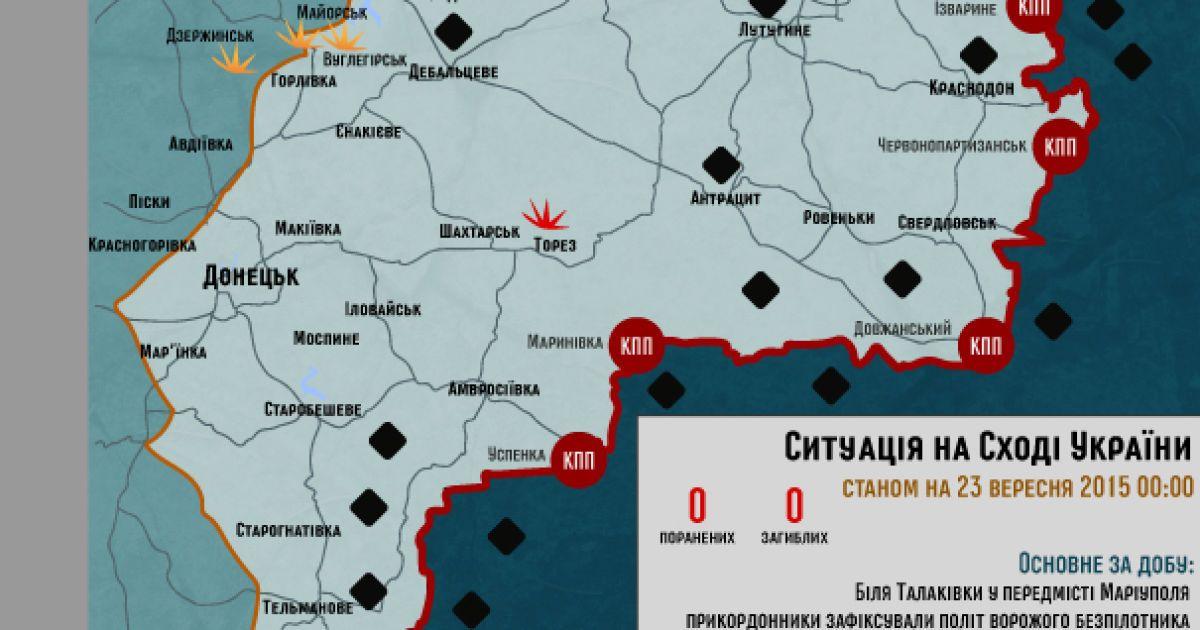 Боевики не атакуют, украинцы восстанавливают мосты. Дайджест АТО
