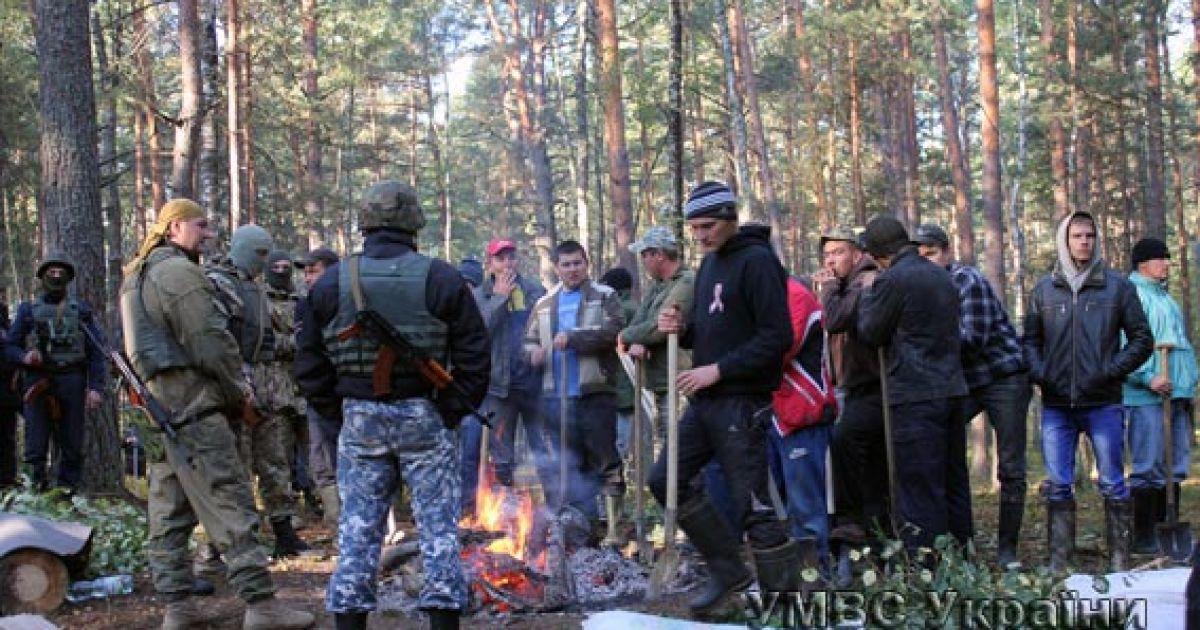 Силовики задержали 17 человек @ УМВД в Волынской области