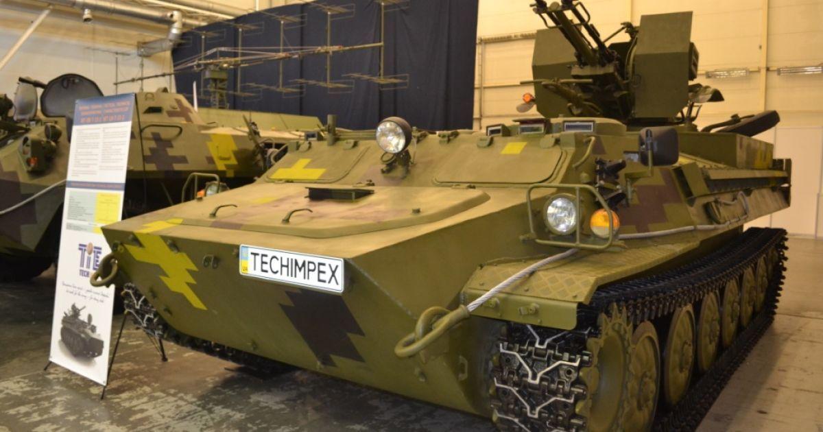 Много образцов техники, которая представлена на выставке, уже прошли испытания в зоне АТО @ mil.gov.ua
