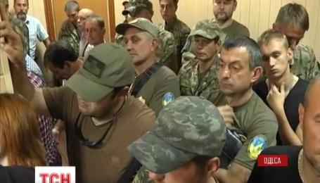 Меру пресечения комбату Владимиру Пушкарю сегодня определять в Одессе