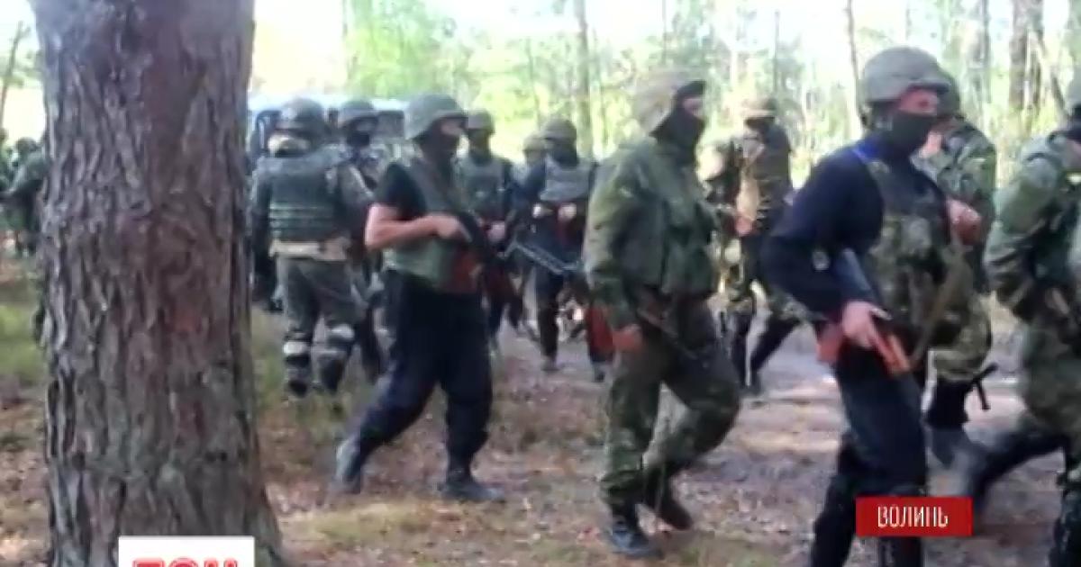 """""""Бурштинова війна"""" на Волині: силовики затримали 80 копачів """"сонячного каміння"""""""
