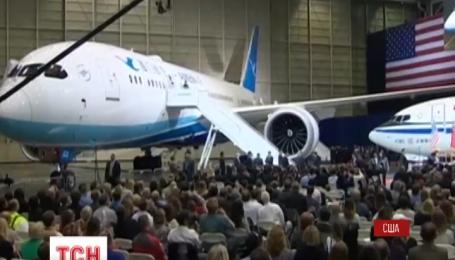 Американский Боинг получил самое крупный в истории заказ на самолеты для Китая