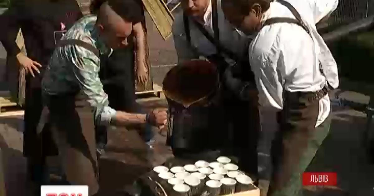 Сотни сортов ароматного кофе можно с сегодняшнего дня попробовать во Львове