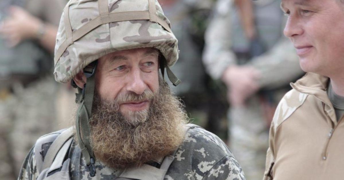 Украинский военнослужащий в зоне проведения АТО возле Мариуполя (Донецкая область). @ УНИАН