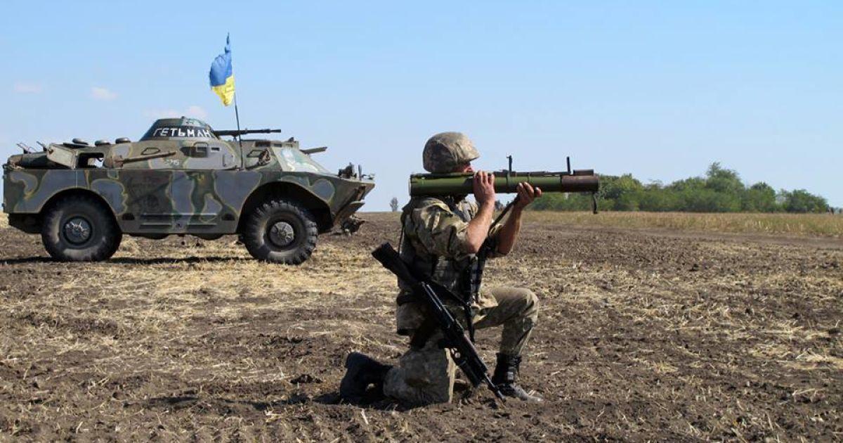 В Генштабе назвали сроки отвода Украиной легкого вооружения на Донетчине